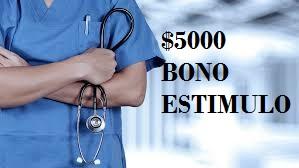 Un plus de 5000 pesos durante cuatro meses para el personal desalud