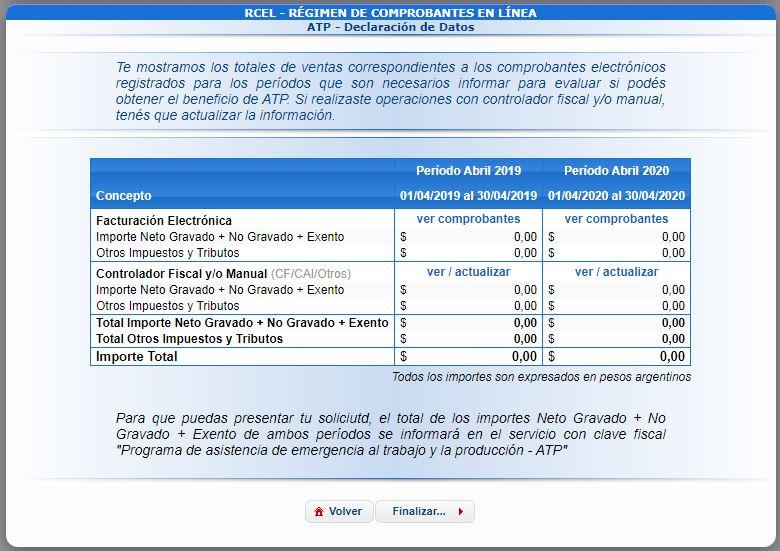 IMPORTADOR DE CONTROLADOR FISCAL Y FACTURAS MANUALES PARA EL PROGRAMA DE ASISTENCIA DE EMERGENCIA(ATP)